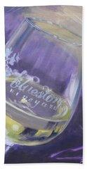 Bluestone Vineyard Wineglass Hand Towel