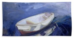 Boat And Buoy Hand Towel