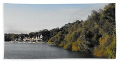 Bath Towel featuring the photograph Boathouse II by Photographic Arts And Design Studio