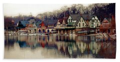 Boathouse Row Philadelphia Bath Towel
