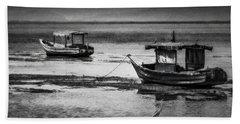 Boats Of Trinidad Bath Towel