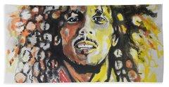 Bob Marley 02 Hand Towel