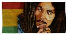 Bob Marley Legend Hand Towel