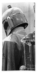 Boba Fett Costume 3 Bath Towel