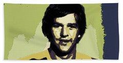 Bobby Orr Poster Art Bath Towel