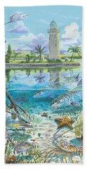 Boca Chita In0026 Hand Towel by Carey Chen