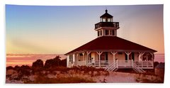 Boca Grande Lighthouse - Florida Bath Towel
