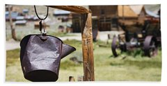 Bodie Ghost Town 2 - Old West Hand Towel