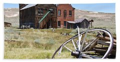 Bodie Ghost Town 3 - Old West Bath Towel