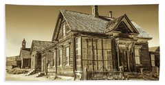 Bodie Ghost Town Bath Towel