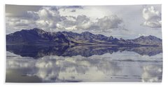 Bonneville Salt Flats Bath Towel