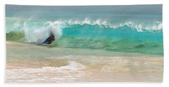 Boogie Board Surfing Hand Towel