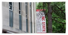 Bookstore Banner - Nc State Bath Towel