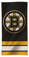 Boston Bruins Uniform Bath Towel