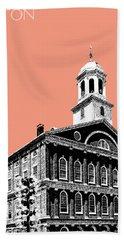 Boston Faneuil Hall - Salmon Hand Towel