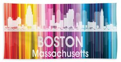 Boston Ma 2 Squared Hand Towel