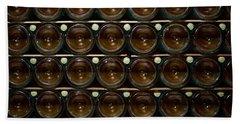 Bottles. Ca Del Bosco Winery. Franciacorta Docg Hand Towel by Jouko Lehto