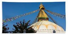 Boudhanath Stupa Hand Towel