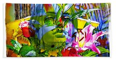 Bouquet Bath Towel by Chuck Staley