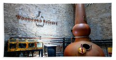 Bourbon Distillery Bath Towel
