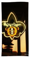 Bourbon Street Bar New Orleans Bath Towel