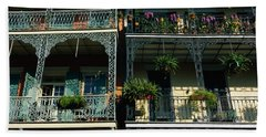 Bourbon Street New Orleans La Bath Towel
