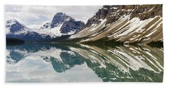 Bow Lake Hand Towel by Dee Cresswell