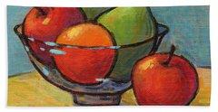 Bowl Of Fruit Hand Towel