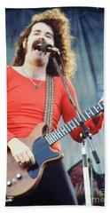 Brad Delp Of Boston-day On The Green 1 In Oakland Ca 5-6-79 1st Release Hand Towel