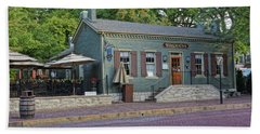 Braddens Main Street St Charles Mo Dsc00874  Hand Towel by Greg Kluempers