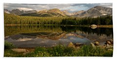 Hand Towel featuring the photograph Brainard Lake by Ronda Kimbrow