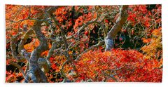 Branches Of Color Bath Towel by Cathy Dee Janes