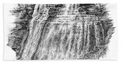 Brandywine Falls - Cuyahoga Valley National Park Hand Towel