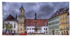 Bratislava Old Town Hall Bath Towel