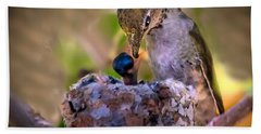 Breakfast Bath Towel by Robert Bales