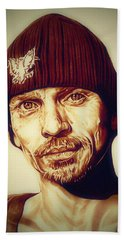 Breaking Bad Skinny Pete Hand Towel by Fred Larucci