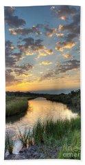 Breaking Dawn Along The Bayou Hand Towel