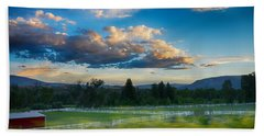 Breathtaking Colorado Sunset 1 Hand Towel