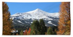 Breckenridge Colorado Bath Towel