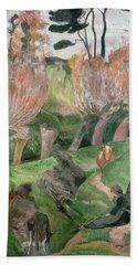 Breton Landscape  Hand Towel