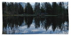 Brewster Lake North Bend Wa Hand Towel