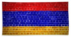 Brick Wall Armenia Bath Towel