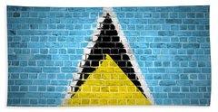 Brick Wall Saint Lucia Bath Towel