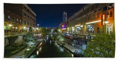 Bricktown Canal Bath Towel