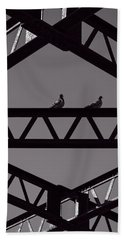 Bridge Abstract Hand Towel