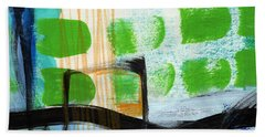 Bridge- Abstract Landscape Bath Towel