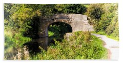 Bridge Over Still Waters Hand Towel