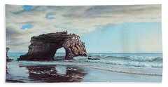 Bridge Rock Bath Towel