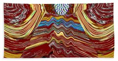 Bridge To Holy Grail Of Mystical Energies Whimisical Abstract By Navinjoshi At Fineartamerica.com  Hand Towel