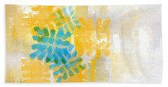 Bright Summer Hand Towel by Lourry Legarde